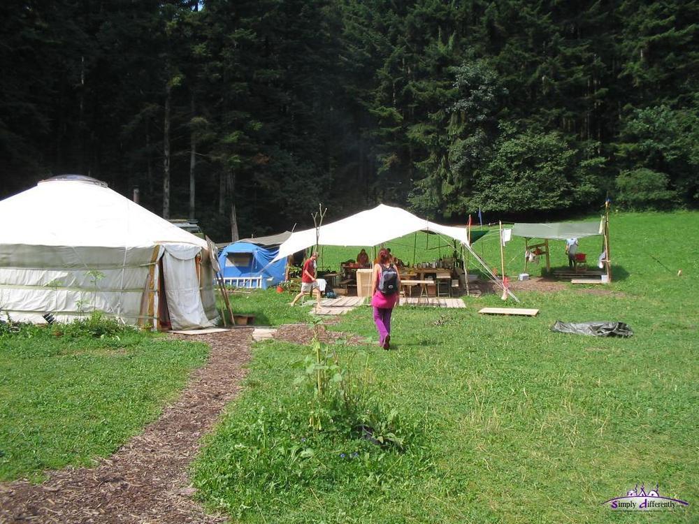 Юрточный лагерь