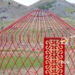 Металлическая юрта the Nomad Yurts