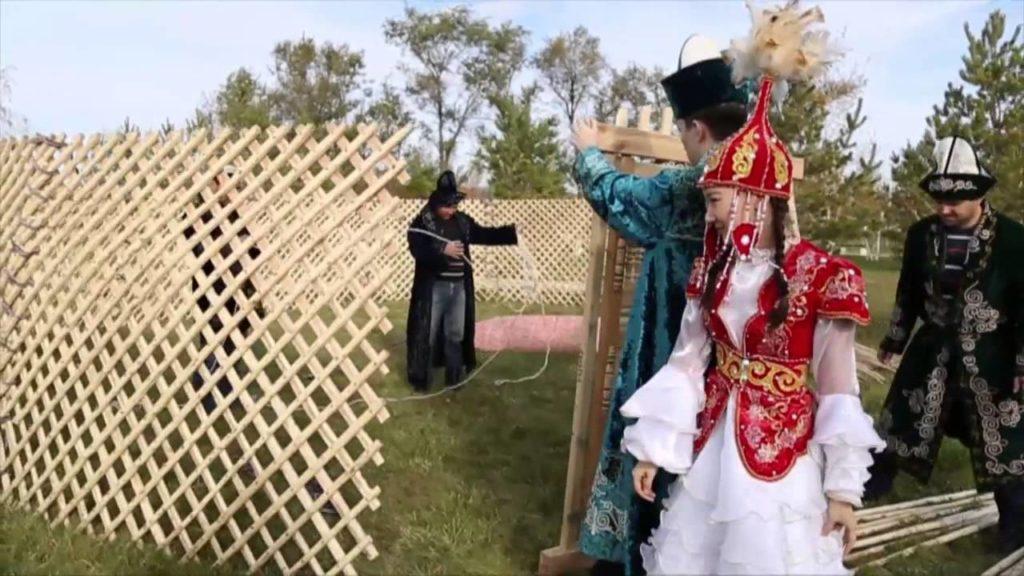 Казахская юрта - микрокосмос кочевника