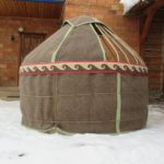 Воссозданные юрты в музеях Челябинска