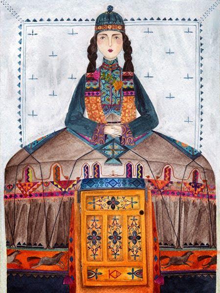 Юрта — женщина