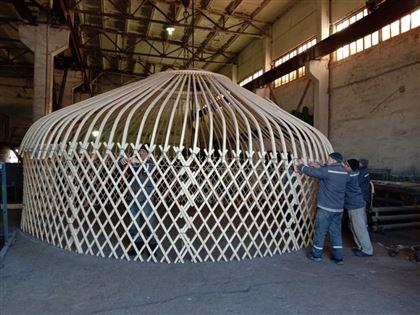В Павлодарской области осужденные изготавливают юрты
