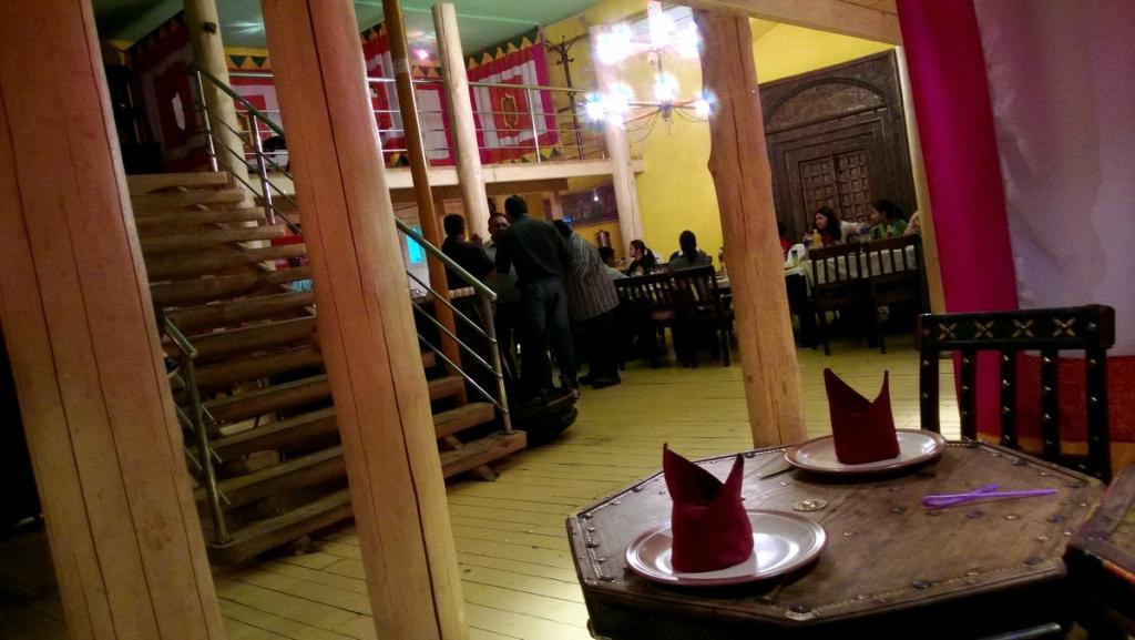 Индийский ресторан в Монголии