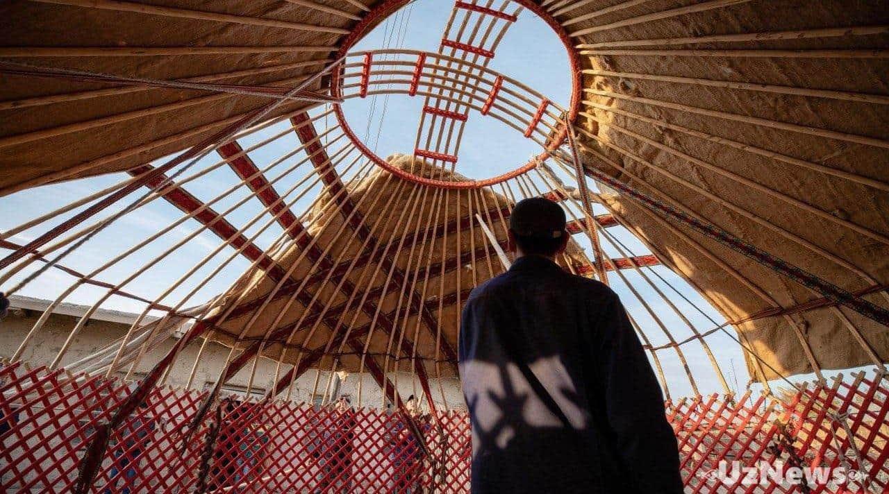 Неизведанный Узбекистан: место, где рождаются юрты