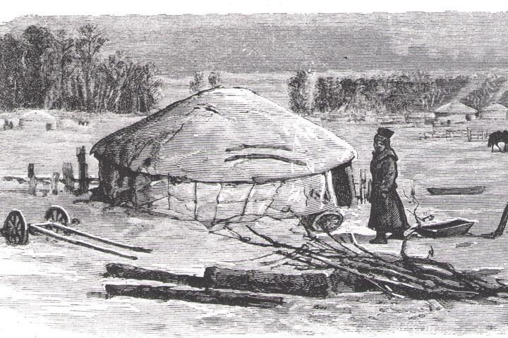 Хакасия в истории: истоки и развитие кочевой войлочной юрты