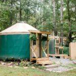 Идея бюджетного дома-юрты для сезонного проживания