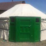 В Улан-Удэ построили юрту по традициям шэнэхэнских бурят