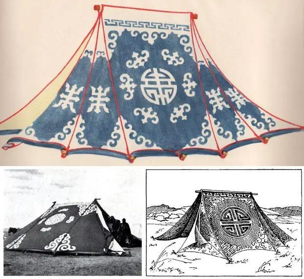 Палатка майхан