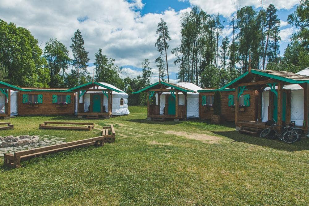 Строим юртовый детский лагерь Ч.5