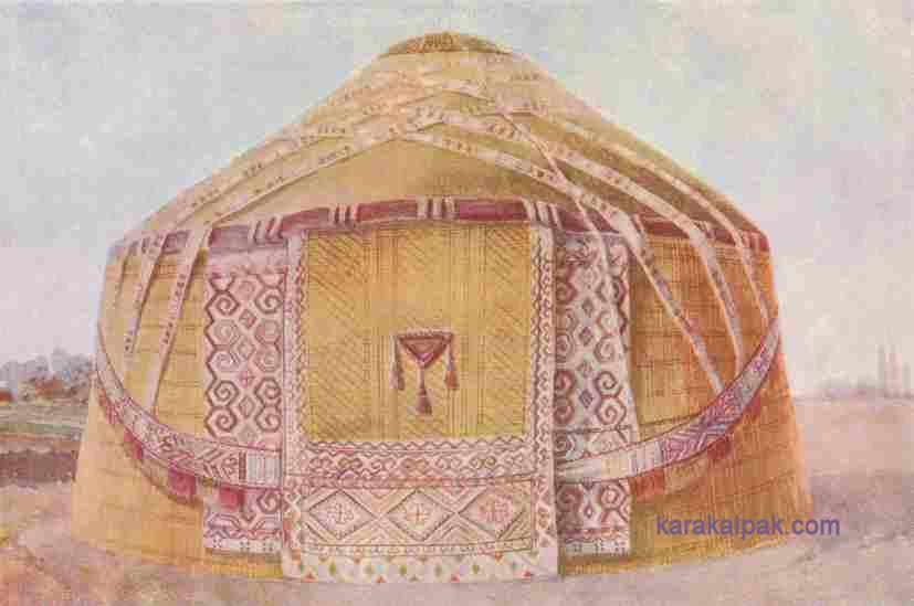 Каракалпакская юрта
