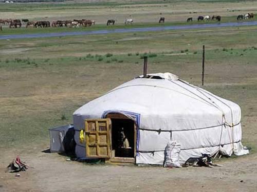 Юрта Средней Азии