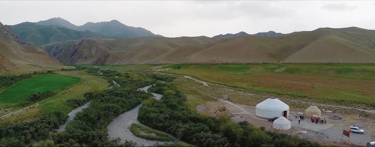 Самая большая юрта в Кыргызстане