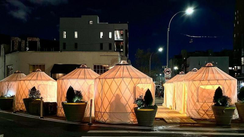 Юрты вдохновили рестораторов в Нью-Йорке