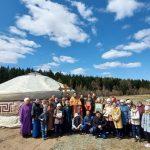 В Туве появился еще один храм в виде юрты