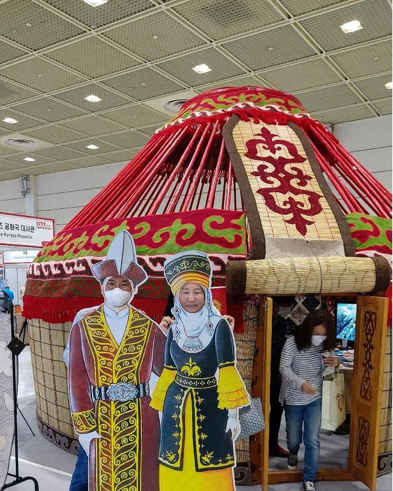 Кыргызская юрта в сеуле